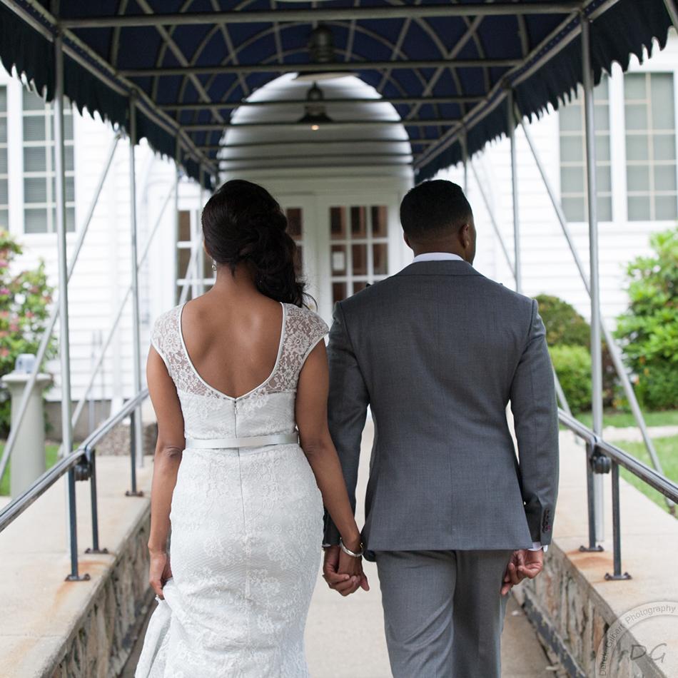 Quincy Neighborhood Club Wedding Photography